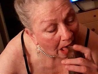 Granny Judy - BBC worship and sucking