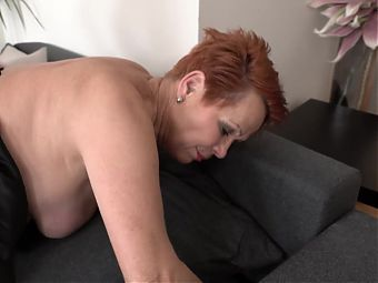 Mom and granny make deep blowjob and fuck boys