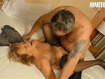 AMATEUREURO - Naughty Old Couple Engage In Hardcore Sex