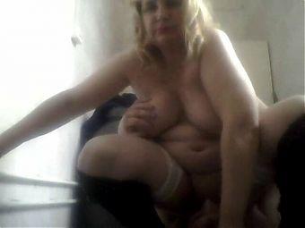 Russian mature whore Olga fucked