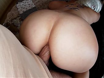 Mature MILF gifted her big ass for anal sex