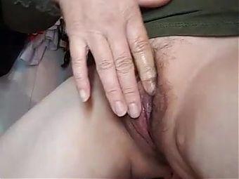 Vietnam, my 55yo mom shows hairy pussy