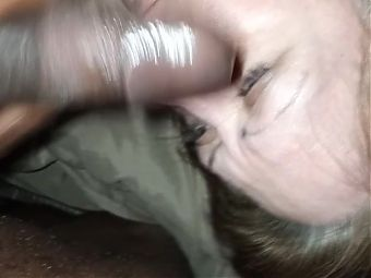 Still satisfying her Cravings with the cumshot