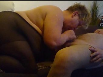 Horny mature pussy and friend in pantyhose