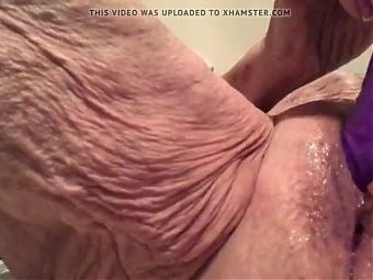 grandmother masturbating