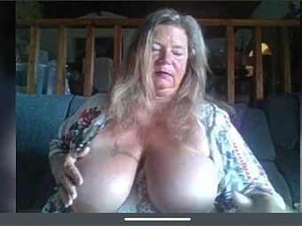 Granny vamp woman with big boobs and pussy part 2